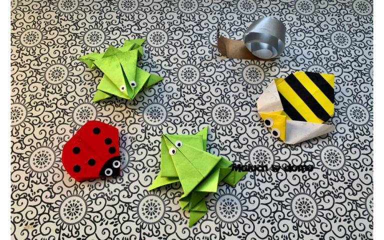 Jak Zrobic Kwiaty Wiatraki Z Kol Origami Maluch W Domu