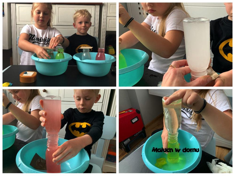 Jak woda dzieli się kolorem