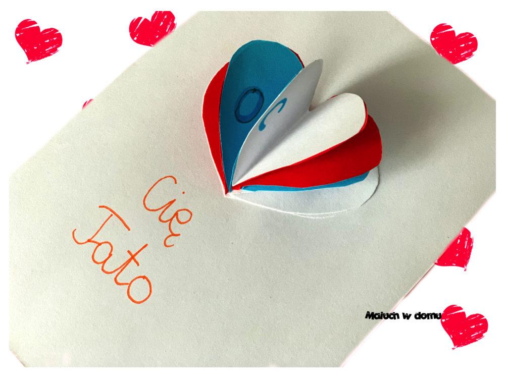 Laurki z sercem 3d