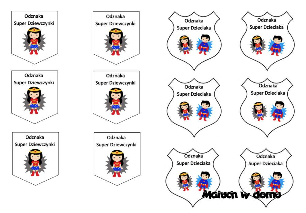 Odznaki dla dzieci