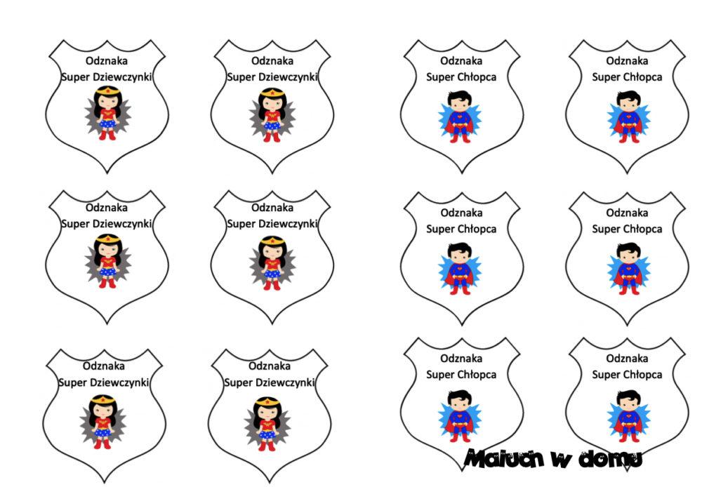 Odznaki na Dzień Dziecka