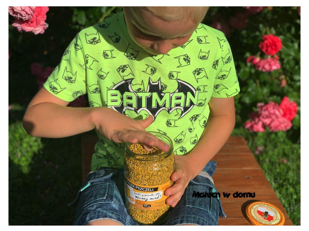Właściwości miodu i pyłku pszczelego
