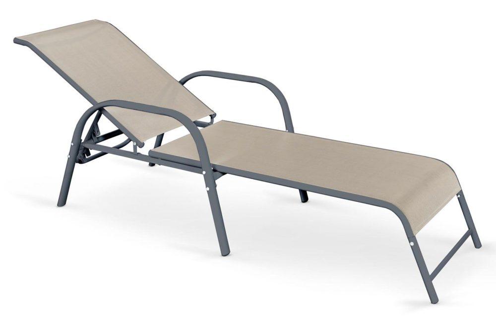 Najlepsze meble ogrodowe - leżak