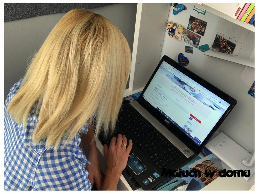 Praca domowa w kursie online