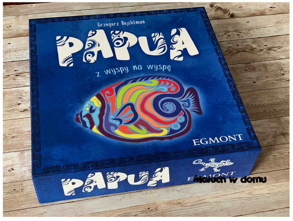 Gra rodzinna - Papua z wyspy na wyspę