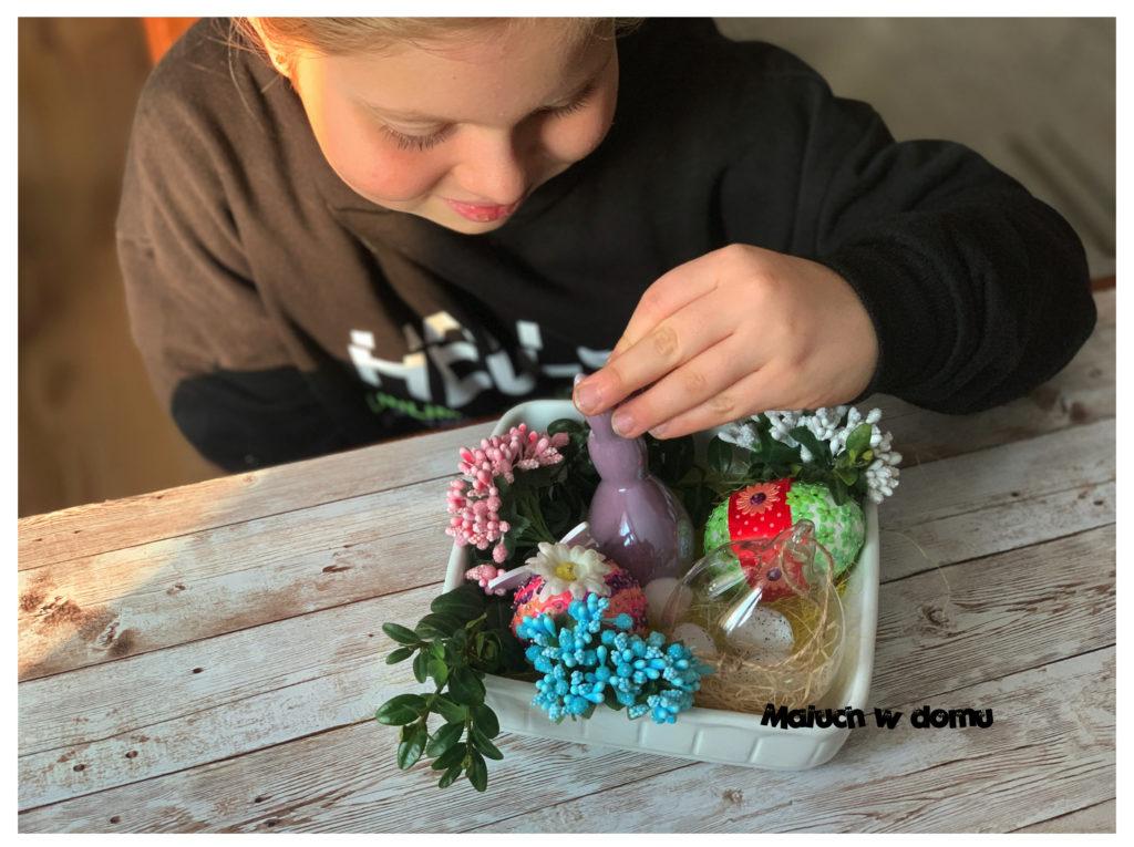 Świąteczna dekoracja dziecinnie prosta