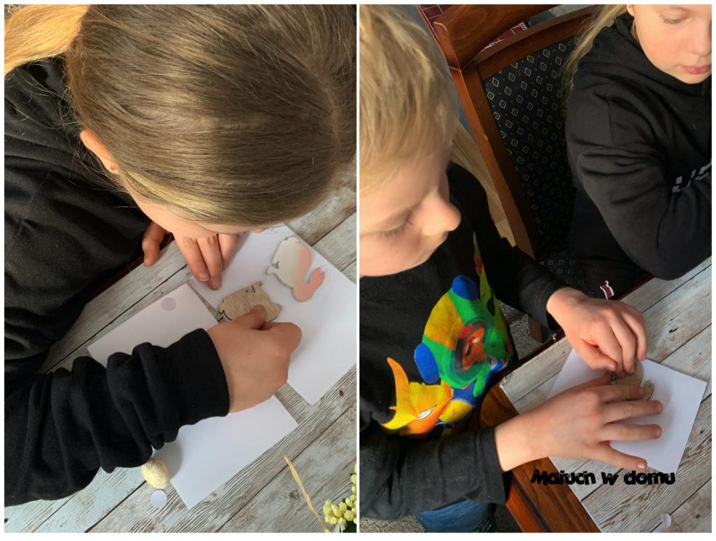 Kartki Wielkanocne robione przez dzieci
