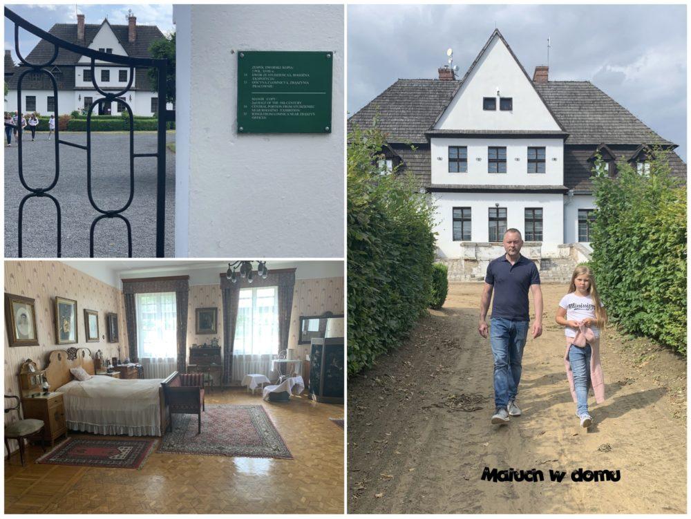 Dworek w Wielkopolskim Parku Etnograficznym - gdzie zabrać dzieci na wycieczkę w okolicach Poznania
