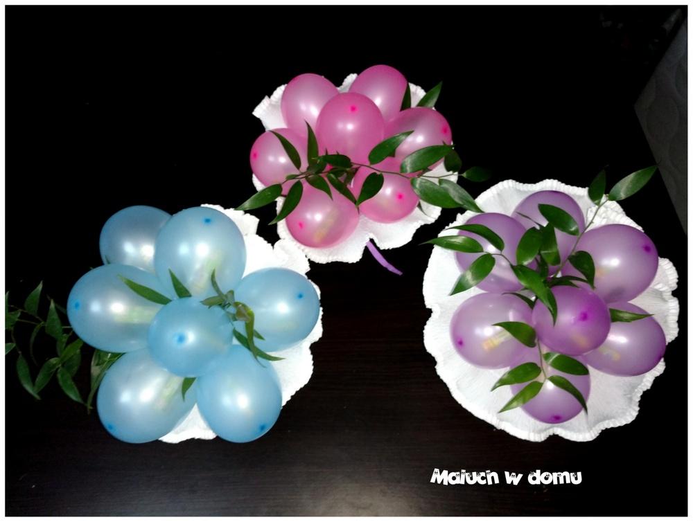 Chwalebne Bukiet z balonów ze zdrapkami zamiast kwiatów - Maluch w domu YM76