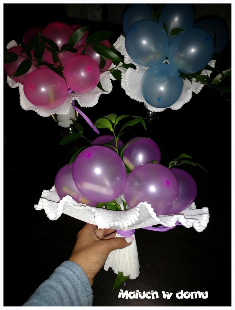 W Ultra Bukiet z balonów ze zdrapkami zamiast kwiatów - Maluch w domu UG53